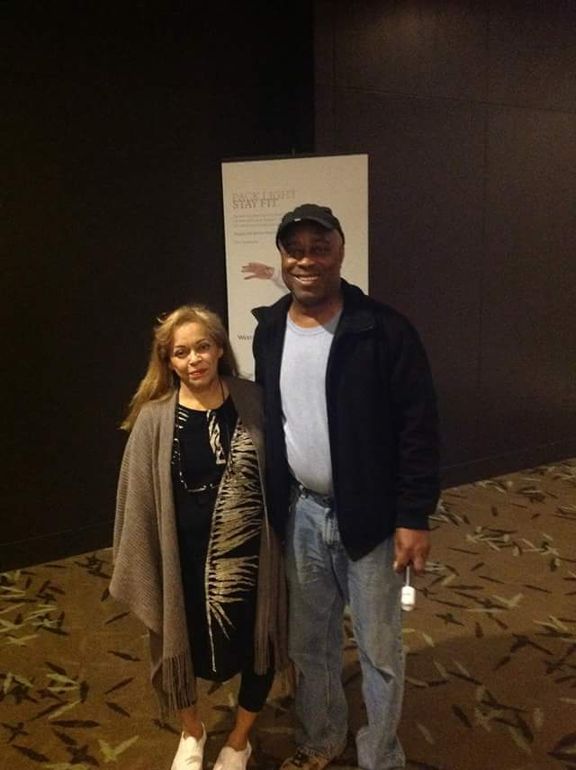With Charles Burnett @ PAFF