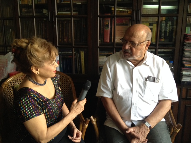 Interviewing Shyam Benegal for Confluence